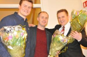 Støtteapparatet i GST, Andre Nyeng Olsen, Frode Moen og Kristian Dahl