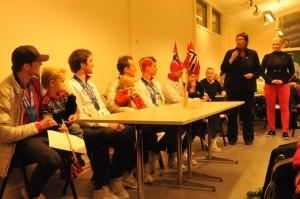 Hilsning fra Trondheim Kommune ved ordfører Rita Ottervik